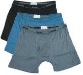 Hunter Men's Big and Tall Boxer Brief Underwear (3 Pair Pack), 2X, Multi