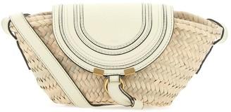 Chloé Mini Marcie Basket Crossbody Bag