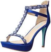 Royal Blue Satin Shoes - ShopStyle