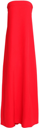 Milly Pleated Cady Maxi Dress