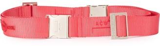 A-Cold-Wall* adjustable logo belt