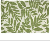 HOMEWEAR Tropical Leaf Set of 4 Green Placemats