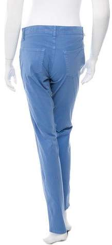 Fabrizio Gianni Low-Rise Straight Leg Jeans w/ Tags