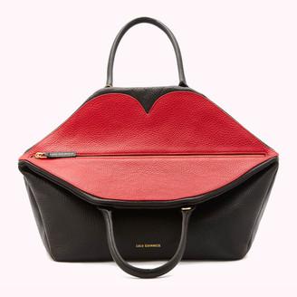 Lulu Guinness Women's Large Peekaboo Lip Valentina Tote Bag