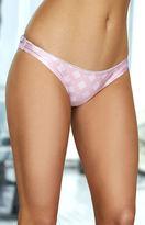 rhythm Valencia Shiny Cheeky Bikini Bottom
