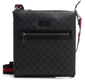 Gucci GG Supreme Web Strap Messenger Bag