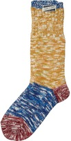 Scotch & Soda Amsterdams Blauw Melange Socks