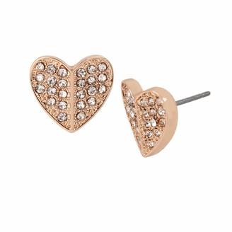 Jessica Simpson Pave Heart Stud Earrings 325403RG689