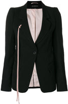 Ann Demeulemeester one-button blazer