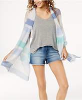 INC International Concepts I.n.c. Multi Stripe Pleated Wrap, Created for Macy's