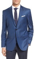 Ted Baker Men's Trim Fit Check Wool Sport Coat