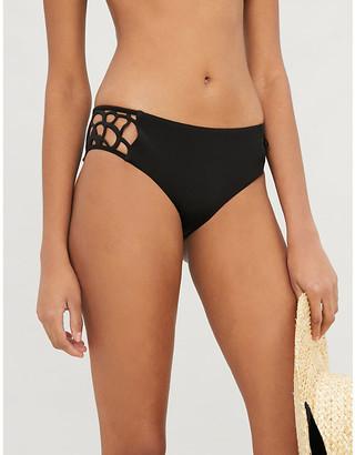Myla Rose Street high-leg bikini bottoms