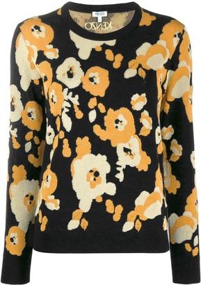 Kenzo Marigold print jumper