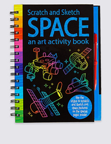 Marks and Spencer Scratch & Sketch Space Book