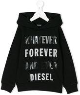 Diesel Sonan hoodie - kids - Cotton - 9 yrs