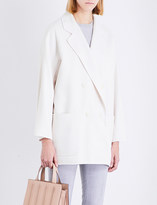 Max Mara Stefy wool and cashmere-blend coat