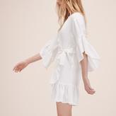 Maje Short dress with frills