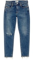 A Gold E Women's Agolde Sophie Crop High Rise Skinny Jeans