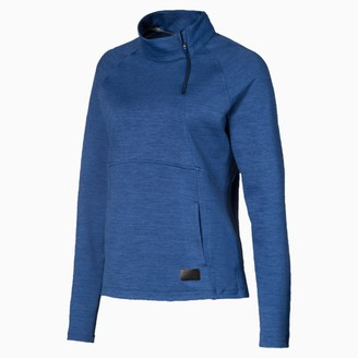 Puma Warm Up Women's Quarter Zip Top