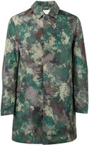 MACKINTOSH camouflage midi coat - men - Nylon - 50