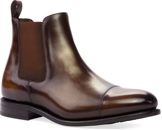 Ike Behar Men's Patina Leather Chelsea Boots