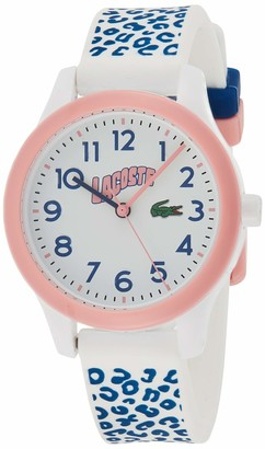 Lacoste Unisex Kid's Analogue Quartz Watch with Silicone Strap 2030025
