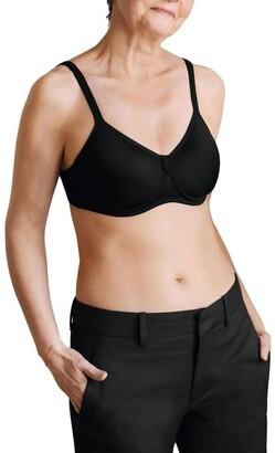 Amoena Lara Soft Cup Post Surgery T-Shirt Bra 675 Black 16