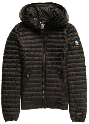 Superdry Hooded Padded Jacket with Zip Fastening