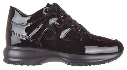 Hogan Interactive Patent Leather Sneakers