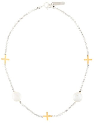 Cross Choker necklace