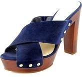 Vince Camuto Elora Women Open Toe Leather Platform Sandal.