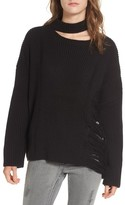 Moon River Women's Destroyed Sweater