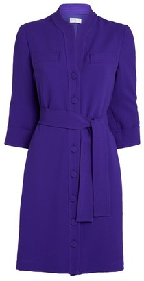 Claudie Pierlot Tie-Front Shirt Dress