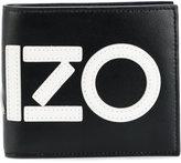 Kenzo logo print wallet - men - Leather - One Size