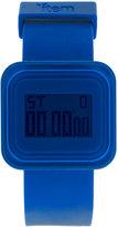 Item Blue Digital Square Watch