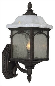"""Special Lite Products Sonoma Outdoor Wall Lantern Finish: Copper, Size: 22.75""""H x 13.5""""W"""