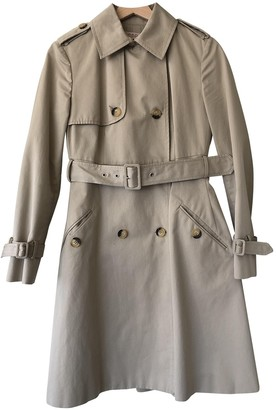 Valentino Red Ecru Trench Coat for Women