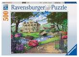 Ravensburger Visiting the Mansion Puzzle - 500 Pieces