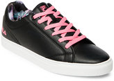 Fila Black & Pink Amalfi Low Top Sneakers