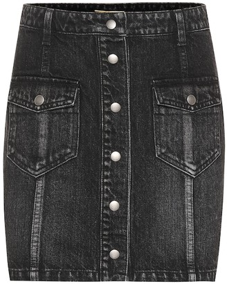 Saint Laurent Eighties denim miniskirt