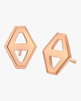 Walters Faith Keynes Hexagon Stud Earrings