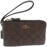 Coach F66506 Corner Zip Wristlet In Signature