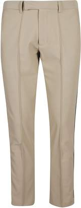 GCDS Tight Fit Concealed Button Trousers