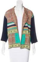 Clover Canyon Silk Printed Blazer