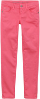 GUESS Skinny fit coral jeans