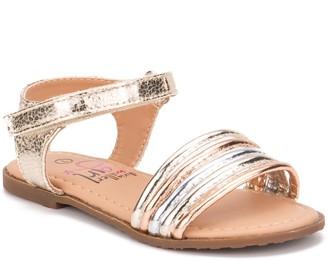 OLIVIA MILLER Sweet Pea Toddler Girls' Sandals