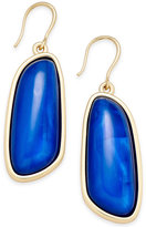 Charter Club Gold-Tone Colored Shell Drop Earrings, Only at Macy's