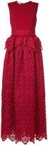 Antonio Berardi lace peplum dress