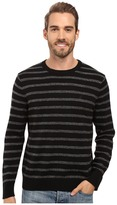Nautica 9 Gauge Striped Crew
