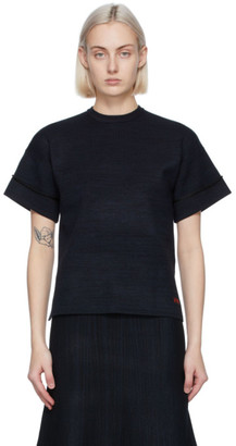 Victoria Victoria Beckham Black Boxy T-Shirt